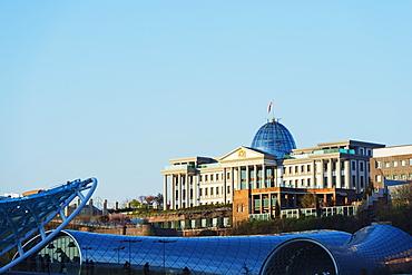 Presidential Palace, Tbilisi, Georgia, Caucasus, Central Asia, Asia