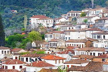 Sirince old town near Selcuk, Anatolia, Turkey, Asia Minor, Eurasia