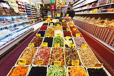 Dried fruits, Side, Lycia, Anatolia, Turkey, Asia Minor, Eurasia