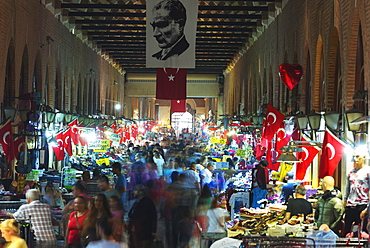 Ali Pasar covered bazaar, Edirne, Turkey, Europe