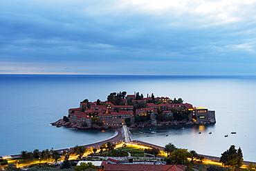 Aman Sveti Stefan island, Montenegro, Europe