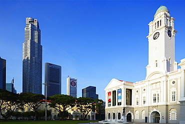Victoria Theatre and Concert Hall, Singapore, Southeast Asia, Asia