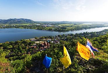 Wat Ban Tham (The Dragon temple) and River Kwai, Kanchanaburi, Thailand, Southeast Asia, Asia