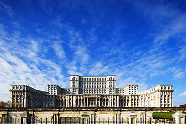 Palace of the Parliament, second biggest building in the world, Bucharest, Romania, Europe