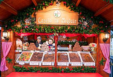 Christmas market, Bucharest, Romania, Europe