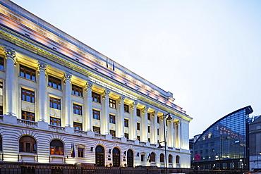 National Bank of Romania, Bucharest, Romania, Europe