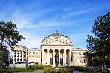 Piata George Enescu, Romanian Athenaeum Concert Hall, Bucharest, Romania, Europe