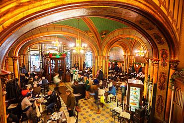 Caru cu Bere Beer Hall and restaurant, Bucharest, Romania, Europe
