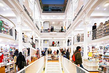 Carturesti Carusel book store. Bucharest, Romania, Europe