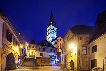 Old Town, Sibiu, Romania, Europe