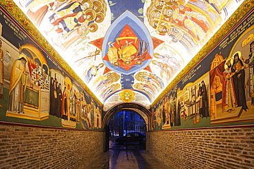The Antim Monastery, built between 1713 and 1715 by Saint Antim Ivireanu, Bucharest, Romania, Europe