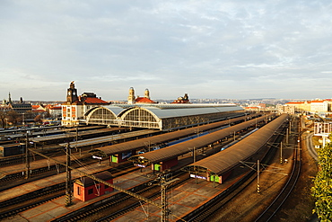 Main train station, Prague, Czech Republic, Europe