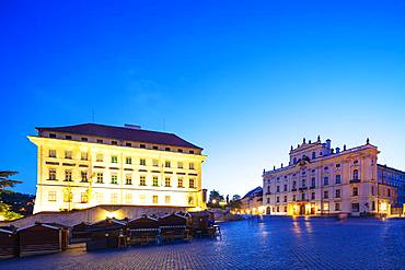 Archbishop's Palace, Prague, UNESCO World Heritage Site, Bohemia, Czech Republic, Europe