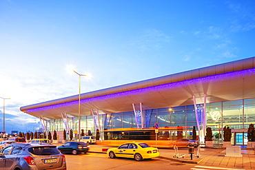 Sofia International Airport Terminal 2, Sofia, Bulgaria, Europe