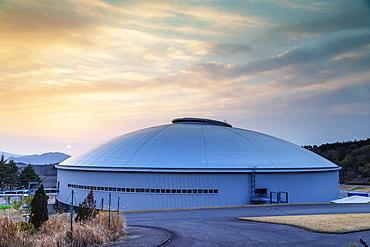 Izu Velodrome, Olympic 2020 venue, Izu Hanto, Shizuoka Prefecture, Honshu, Japan, Asia