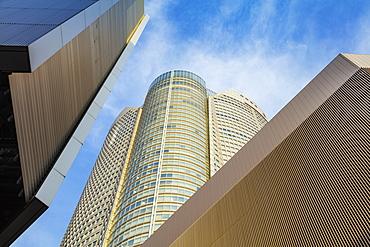 Mori Tower building, Roppongi Hills, Roppongi, Tokyo, Japan, Asia
