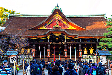 Kitano Tenmangu Shrine, Kyoto, Kansai, Japan, Asia
