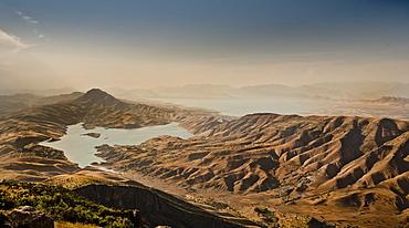 Dokan lake and dam, Iraq, Middle East