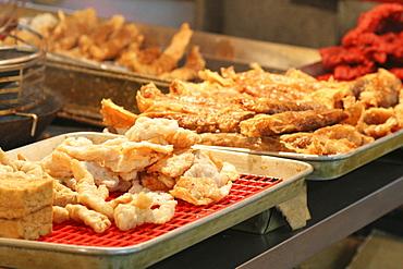 Deep-fried tofu, Tofu Street, Taipei, Taiwan