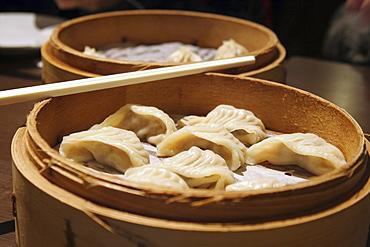 Steamed dumplings, Taipei, Taiwan