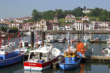 Donibane Lohitzun, Old Harbour, St-Jean-de-Luz, France
