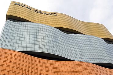 Modern architecture (MGM Grand hotel & Casino), Macau