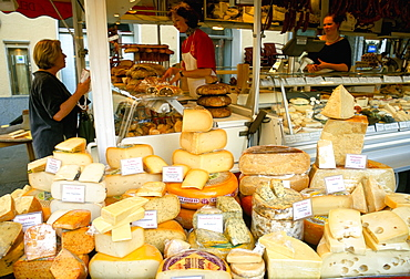 Austrian Alps are also famous for cheese, Salzburg, Austria, Europe
