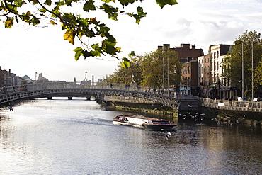 The Liffey River, Dublin, Republic of Ireland, Europe