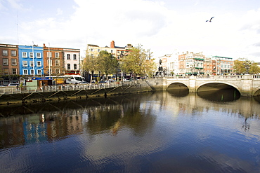Liffey River, Dublin, Republic of Ireland, Europe