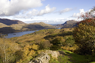 Queen Victoria Ladies View, Upper Lake, Killarney National Park, County Kerry, Munster, Republic of Ireland, Europe