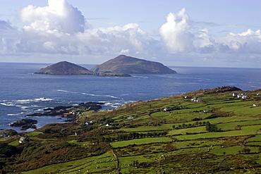 Near the Beara peninsula, Island of the Horse and the Island of the Rabbits, County Cork, Munster, Republic of Ireland, Europe