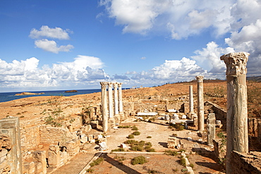 Apollonia Cyrenaica, one of the five towns of the Libyan Pentapolis, the port town of Cyrene, Libya, North Africa, Africa