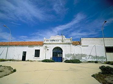 Security jail, Asinara, Sardinia, Italy, Europe