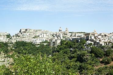 View of Ragusa, Ibla, Sicily, Italy, Europe