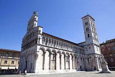 San Giacomo Church, Lucca, Tuscany, Italy, Europe