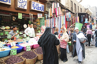 Khan El Khalili market, Cairo, Egypt, North Africa, Africa