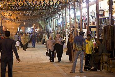 Aswan market, Aswan, Egypt, North Africa, Africa