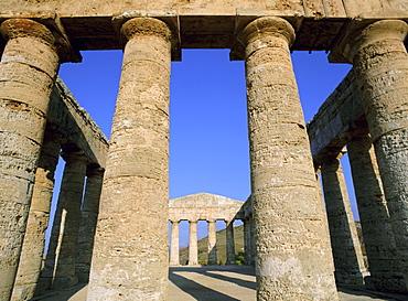 Segesta, Sicily, Italy, Mediterranean, Europe