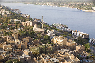 The town of Luxor, Egypt, North Africa, Africa