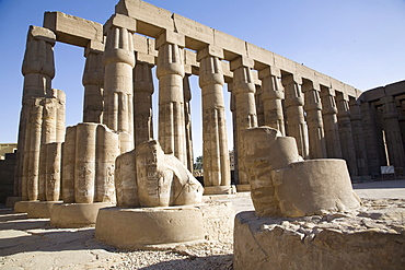 The Temple of Luxor, Thebes, UNESCO World Heritage Site, Egypt, North Africa, Africa
