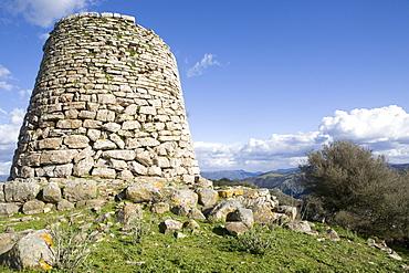 Nuraghe Goni, Sardinia, Italy, Europe