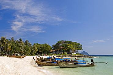 Laem Tong beach, Phi Phi Don Island, Thailand, Southeast Asia, Asia