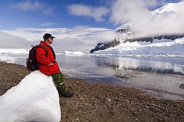 Neko Harbor, Gerlache Strait, Antarctic Peninsula, Antarctica, Polar Regions