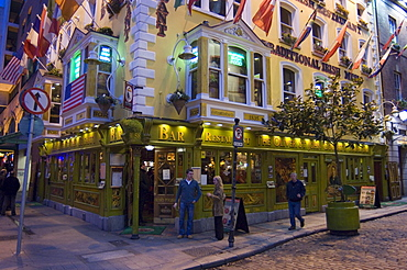 The Oliver St. John Gogarty pub, Temple Bar, Dublin, County Dublin, Republic of Ireland (Eire), Europe