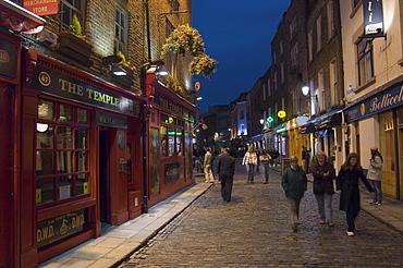Temple Bar, Dublin, County Dublin, Republic of Ireland (Eire), Europe