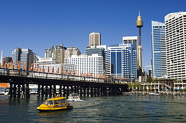 Skyline, Darling Harbour, Sydney, New South Wales, Australia, Pacific