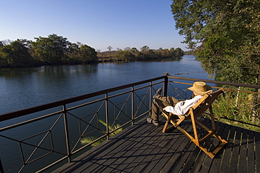 Lunga River Lodge, Kafue National Park, Zambia, Africa