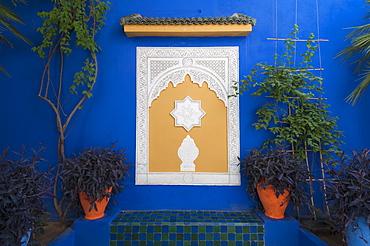 Majorelle Gardens, Marrakech, Morocco, North Africa, Africa