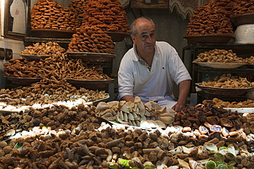 Patisserie Belkabir, Medina Souk, Marrakech, Morocco, North Africa, Africa