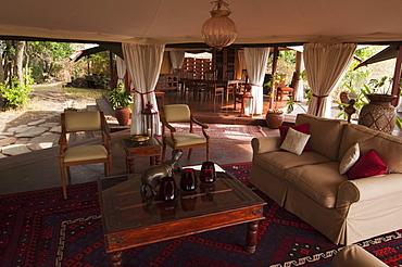 Mara Plains Tented Camp, Masai Mara, Kenya, East Africa, Africa
